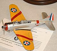 """Name: AIR21.jpg Views: 299 Size: 29.2 KB Description: Prewar """"trainer"""" colors.  Visible in the air."""