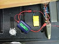 Name: DSCF4257.jpg Views: 107 Size: 91.0 KB Description: WattsUp logging power meter in series with Rx.