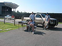 Name: IMG_2671.jpg Views: 114 Size: 94.1 KB Description: John walking away, myself, Laura Jane and Chris. Behind the camera is Travis