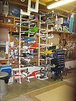 Name: 2nd Plane Rack 001.jpg Views: 173 Size: 207.1 KB Description: My hanger& things