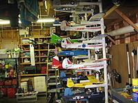 Name: 2nd Plane Rack 002.jpg Views: 116 Size: 303.4 KB Description: My hanger& things
