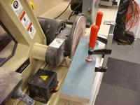 Name: DSCN0475.jpg Views: 504 Size: 79.7 KB Description: Clamp a block at a steep angle to the table