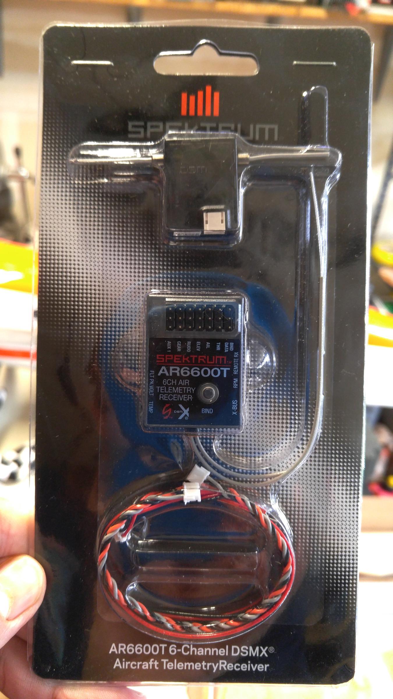 New Spektrum TELEMETRY receivers AR6600T/6270T/8010T/9030T/9320T