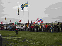 Name: CIMG0138.jpg Views: 184 Size: 177.9 KB Description: All of the teams lined up for opening ceremonies