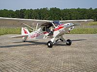 Name: DSCN1401.jpg Views: 96 Size: 301.3 KB Description: E-Flight Super Cub on the ramp.