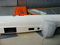 Name: DSCF2378.jpg Views: 192 Size: 179.4 KB Description: bushing made of foam and planned install location