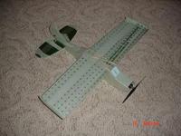 "Name: DSC01178.jpg Views: 426 Size: 130.8 KB Description: Blu-Baby 33, KFM3 wing, 2"" Monobloc, L-19 Tail"