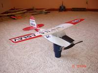 "Name: Cessna L-19 Birddog.jpg Views: 930 Size: 70.1 KB Description: Cessna L-19 Birddog using Tony's Blu-Baby 2"" monobloc construction."