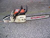 Stihl 028 chainsaw,drill press, scroll saw - RC Groups