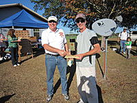 Name: 2012TangerineUNLSun 076.jpg Views: 53 Size: 314.7 KB Description: Jeff Duval  FL  - receives his custom Shoot out trophy.