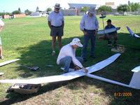 Name: CIMG2188.jpg Views: 60 Size: 137.0 KB Description: Greg preparing for maiden flight