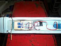 Name: 100_6155.jpg Views: 312 Size: 88.0 KB Description: palcement of fuse stiffener spreader, and servos