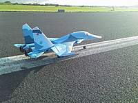 Name: DSC_0680.jpg Views: 759 Size: 133.3 KB Description: A Su-34 pictured from the side.