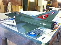 Name: IMG_0328 (Small).jpg Views: 74 Size: 63.3 KB Description: Mirage three quarter side view showing tail cone made from microply.