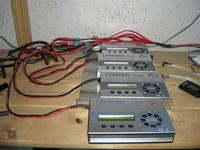 """Name: iCharger Problem 002.jpg Views: 383 Size: 98.8 KB Description: Here are the iCharger connected to the """"distribution cable""""."""