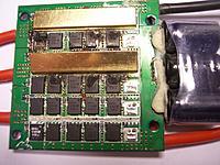Name: ESC FET.jpg Views: 214 Size: 260.8 KB Description: Burnt FETs  FETs are Si7164DP N channel