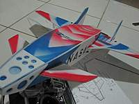 Name: delta3.jpg Views: 528 Size: 25.0 KB Description: THIS HAS A 2 DEGREE UP ANGLE to keep her afloat on slow speed!