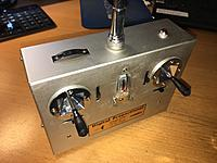 Name: 01x_Robbe_FP-T4_1972.JPG Views: 12 Size: 194.4 KB Description: My first radio, a Robbe (Futaba) FP-T4 (4ch) proportional from 1972. All metal case.