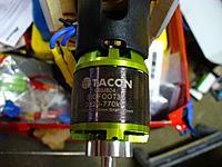 Name: P1010196.jpg Views: 262 Size: 254.1 KB Description: Motor is a Tacon 32 770kV