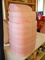 Name: P3190016.jpg Views: 114 Size: 52.7 KB Description: Bow sections glued onto the middle sections again.