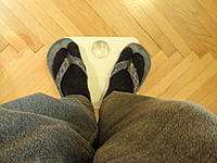 Name: P4150018.jpg Views: 176 Size: 176.6 KB Description: Me + camera alone. 82 kgs. - Ok. so 9.5 kgs seems to make sense. Minus 4.2 kgs weight of the foamplug - now you know why I documented the weight of it - makes 5.3 kgs shellweight for now. Do you think that´s too much?