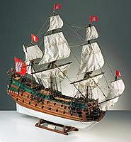 """Name: Wappen von Hamburg.jpg Views: 166 Size: 118.8 KB Description: The German """"Wappen von Hamburg"""" - again a Galeon. Also around 1660-1670."""