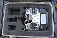 Name: 21.jpg Views: 61 Size: 224.1 KB Description: With the monitor off now I can fit the radio in the case. The other half of the mount is still attached to the radio too.