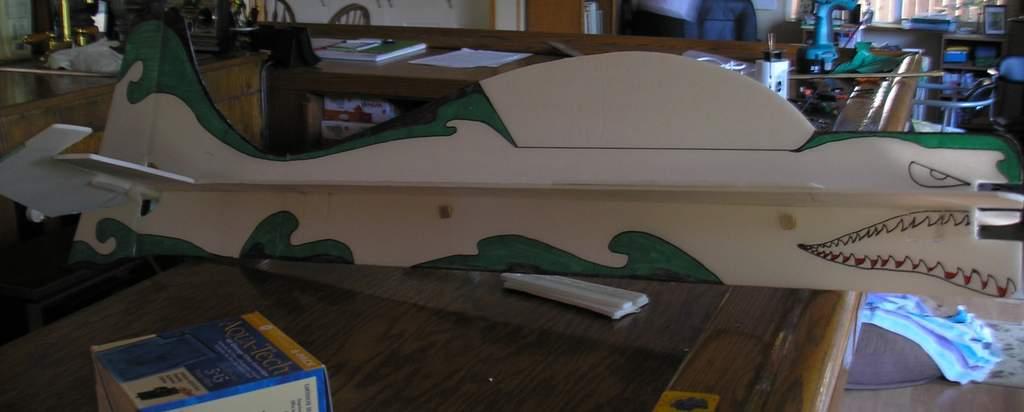 "Name: P7161840.jpg Views: 270 Size: 37.3 KB Description: My ""Tribal Shark"" design"