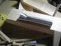 Name: P7281260.jpg Views: 196 Size: 53.2 KB Description: aluminum tubes roughed out, but in no way shape or form near completion