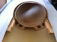 Name: 20120821 039.jpg Views: 89 Size: 212.1 KB Description: EDF mounts secured to firewall and fibreglass shell. The block is thick 5-ply and balsa combo.