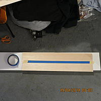 Name: 001.jpg Views: 244 Size: 484.5 KB Description: What's going to be a masking tape hinge.