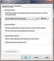 Name: Default sound settings.jpg Views: 104 Size: 61.0 KB Description: