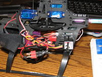 Name: sideView.jpg Views: 373 Size: 128.6 KB Description: Here is one using a Telebee GR201, using a end pin AR6100E, once again the wires look like cr@p and this is hard to work on compared to Merilee's heli.  I like the gyro mounted outside the frame, it is easy to see.  Merilee's is easy to see as w