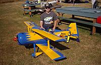 Name: Jim and his Viking (modified Pitts model 12).jpg