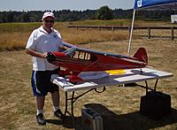 Name: Randy and his Piper PA-12.jpg
