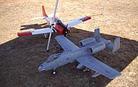 Name: Robert's T-28 Trojan and A-10 Warthog.jpg