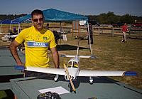 Name: Tony and his Piper Cherokee.jpg