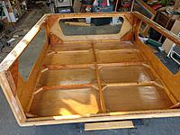 Name: IMG_20201101_144352658_MP.jpg Views: 5 Size: 6.45 MB Description: The bottom edges have some real heavy fiber glass strips  applied to seal the bottom wood.