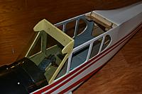 Name: super-cub-windshield.jpg Views: 129 Size: 163.4 KB Description: Super Cub - The windshield is starting to yellow. I never installed the front side windows. I lift the false floor and insert/remove batteries through there.