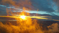 Name: SunShineScud.jpg Views: 70 Size: 120.5 KB Description: Flying into back-lit clouds with view of Utah Lake.