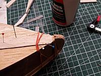 Name: 20121218_210838 (Medium).jpg Views: 41 Size: 159.3 KB Description: Shoe keel set into the bow