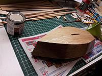 Name: 20708_2012112322061400_20121123_090614 (Medium).jpg Views: 263 Size: 191.9 KB Description: Bottom trimmed and light coat of spar varnish applied