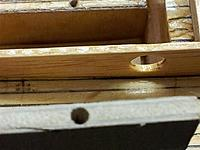 Name: 20130210_092358 (Medium).jpg Views: 34 Size: 118.4 KB Description: Matching hole in keel.