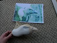 Name: Vulture head build.jpg Views: 180 Size: 238.9 KB Description: Vulture head detail in build