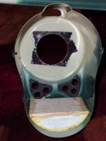 Name: 100_2924.jpg Views: 334 Size: 64.9 KB Description: Foam plug after cemented in place with foaming PU glue.