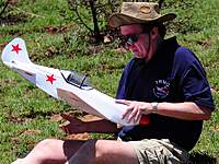 Name: DSC_3851.jpg Views: 795 Size: 79.7 KB Description: Gert prepping his Mig for launch.