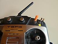 Name: P1030750.jpg Views: 55 Size: 174.2 KB Description: Orange three way switch (SC) on my Futaba 8FG to cycle through GPS-ATT-MAN