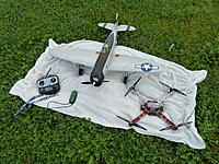 Name: P1030695.jpg Views: 61 Size: 309.5 KB Description: All these fly on my Futaba 8FG too. P-47 and F-450 quad with NAZA