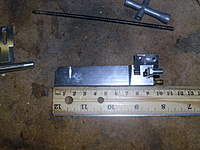 Name: DSCI0730.jpg Views: 100 Size: 87.6 KB Description: Rudder bracket is frozen on so need a new rudder.