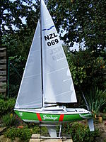 Name: DSCF3021.jpg Views: 636 Size: 235.9 KB Description: Assembly finished with graphics & ready to hit the water